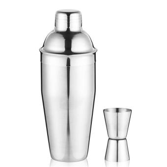 Harga 2 pcs 750ML 3-Piece Martini Cocktail Shaker - intl