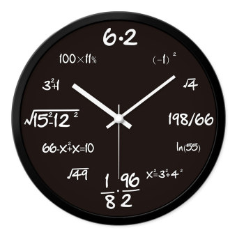 Harga Mormon personalized fashion creative minimalist modern bedroom living room wall clock mute large quartz watches and clocks clock pocket watch