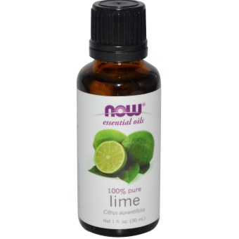 Harga Now Foods, Essential Oils, Lime, 1 fl oz (30 ml)
