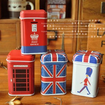 Harga Zakka retro tank tube mini small tin toothpick box