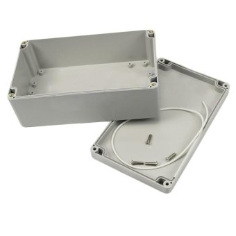 Harga 1 PC Mini 200x120x75mm Waterproof Plastic Electronic Project Box Enclosure Case VE836 T50 - intl