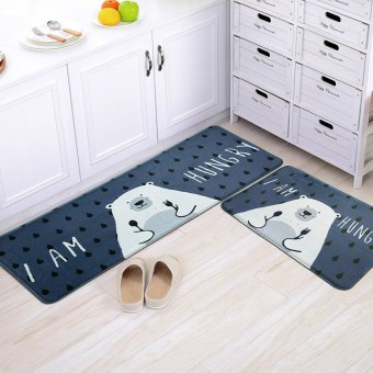 Harga Door mats mat living room bedroom kitchen bathroom bathroom door entry cute room non-slip mat