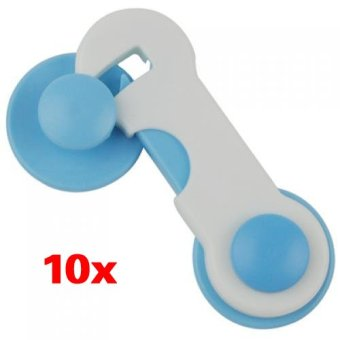 10pcs Door Drawer Cabinet Safety Locks For Child Kids Baby