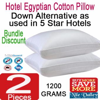Harga Nile Valley's Egyptian Cotton Down Alternative Pillow 1200g. As used in 5 star Hotel
