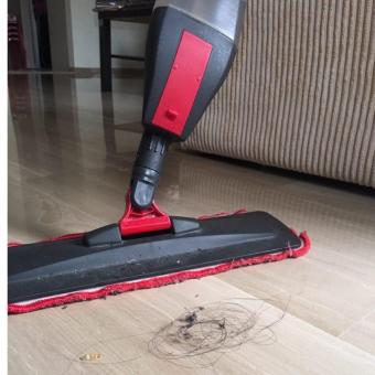 Harga Easy RED Spray Mop (FREE 3 microfibre cloths + 1 brush!!!)