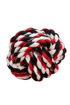 Harga Moonar Pet Dog Cat Entertainment Rolling Cotton Rope Play Ball (EXPORT)