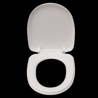 "Harga SOFT CLOSE HEAVY DUTY TOILET SEAT WITH TOP FIXING HINGES ARIAN ""U"" shape - Intl"