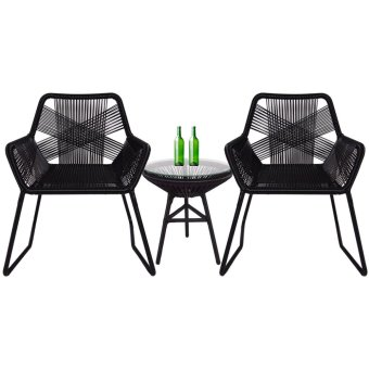 Harga Bay Patio Set (Fully Assembled)