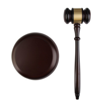 Harga Wooden Handcrafted Wood Gavel Sound Block for Lawyer Judge Auction Sale
