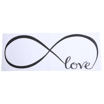 Harga Yingwei LOVE Number Wall sticker Black