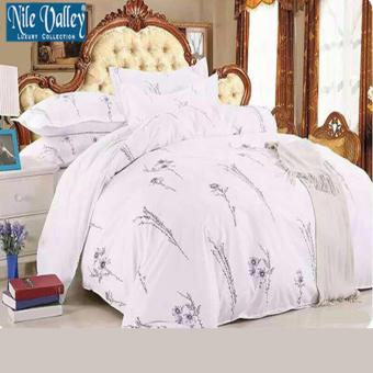 Harga Nile Valley's Hotel Egyptian Cotton 800TC Designer Quilt Set. Exclusive 4 Pieces