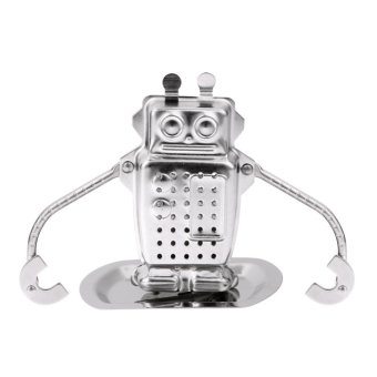 Harga Robot Shape Tea Strainer Herbal Spice Filter - intl