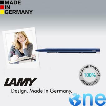 Harga 100% Authentic Lamy Logo M Ballpoint Pen Color : Blue