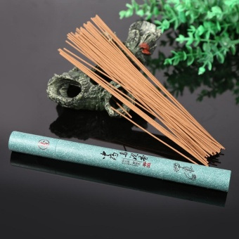 1x Oriental Buddha Buddhist Aroma Nature Incense Sticks With Case Sandalwood #5 - intl