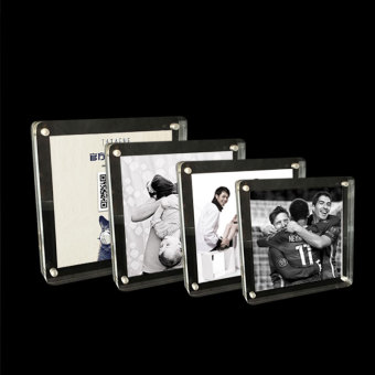 Harga Hao can AliPay rounded square frame transparent acrylic taiwan card creative photo frame family photo album