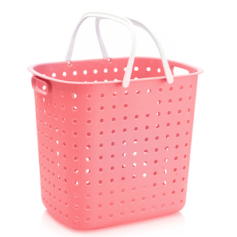 Harga Open too large plastic frame mobile shelves cart laundry basket laundry basket laundry bucket storage basket bucket