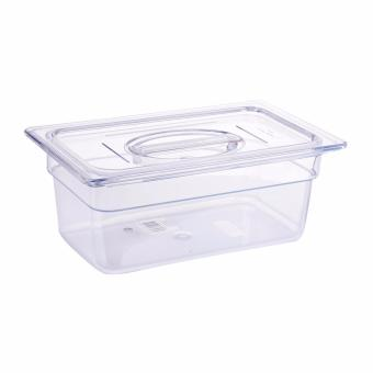 Harga Sunnex Polycarbonate Gastronorm Container With Cover 2.5l