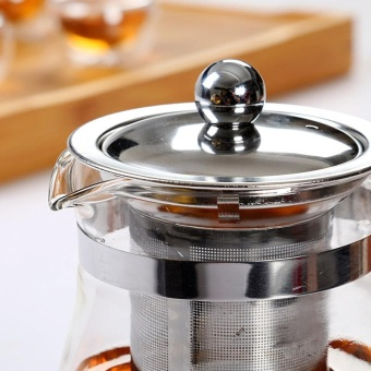 ... 350ML 1000ML Heat Resistant Glass Teapot With Infuser Coffee Tea Source RuYiYu Chinese Clear Glass