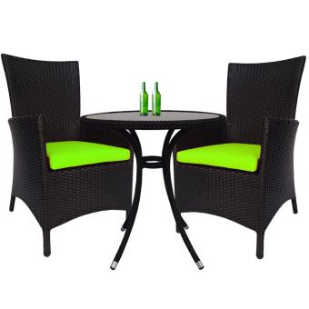 Harga Santa Patio Set, Green Cushion(Green)
