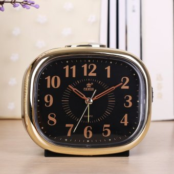 Harga King watches fashion creative lazy snooze alarm clock cute student child music electronic alarm clock silent night light