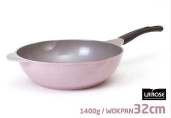 Harga Cheftopf Korean 5 Layers Ceramic Coating Stir-Frying Wok 32 cm - intl