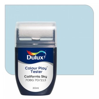 Harga Dulux Colour Play Tester California Sky 70BG 70/113