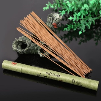 1x Oriental Buddha Buddhist Aroma Nature Incense Sticks With Case Sandalwood for Home #1 - intl