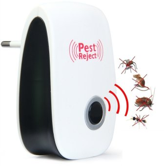Harga Pest Reject Electronic Ultrasonic mice Mouse Repellent Anti Mosquito Insect Killer Rodent EU Plug QG004-SZ