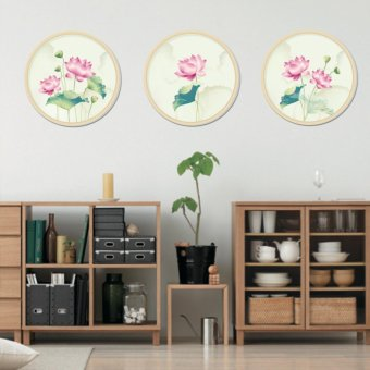 Harga Catwalk Chinese LOTUS Vinyl Wall Sticker Flower Home Decorative Decal Removable Mural - intl