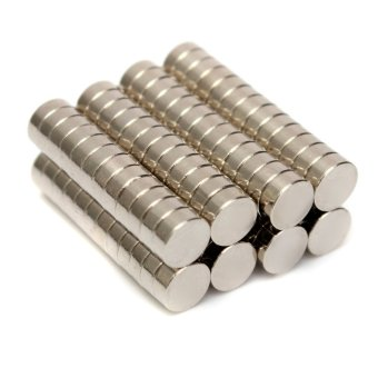 Harga 100pcs Rare Earth Magnets Neodymium Disc 5x2mm N52 Super Strong Round Magnets (Export)(Intl)