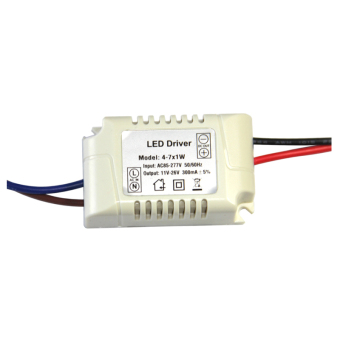 Harga External Constant Current LED Driver 4~7*1W Output Voltage 12~25V P-LD-7W