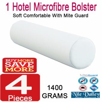 Harga Nile Valley's Microfibre Round Bolster 1400g. Threated with Mite Guard