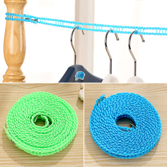 Harga Fence slip windproof clothesline clothesline rope ladder structure with hook japanese style sun is
