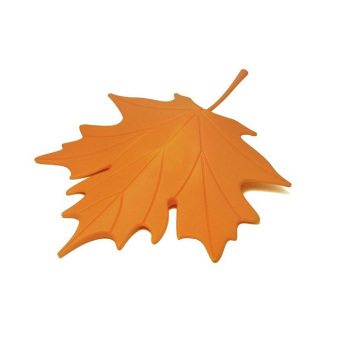 Harga PAlight Finger Safety Maple Leaf Door Stop Stopper (orange)