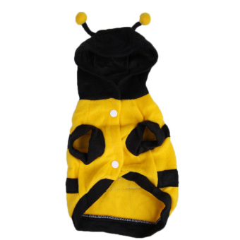 Harga Cute Bumblebee Dog Cat Pet Halloween Apparel Clothes Bumble Bee Dress No.10
