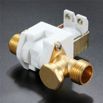 "DC 12V 1/2"" Electric Solenoid Valve For Water Air N/C Normally Closed - Intl"