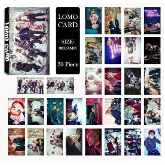 Harga Youpop KPOP BTS Bangtan Boys WINGS Photo Album LOMO Cards New Fashion Self Made Paper Card HD Photocard LK420 - intl