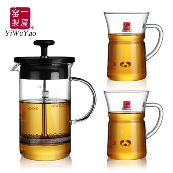 Harga A house kiln heat-resistant glass tea set package of TEA Tea Kung Fu tea red tea is hot gift