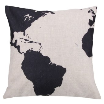 Harga Creative Pattern Cotton Pillow Cover Cushion Cover sleeve