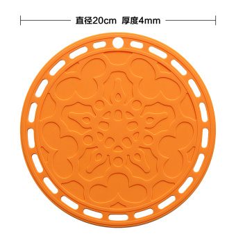Harga Creative home large silicone table mat kitchen insulation pad pot mat bowls mat disc pad European coasters round mat