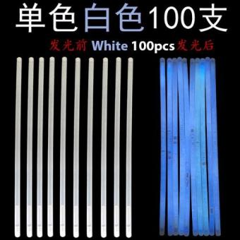 Harga Glow Light Stick - White 100pcs