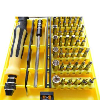 Harga JACKLY 6089 A-type 45 in 1 Screwdriver Set Professional Repair Tools Kit for iPhone 6 Plus 6 5S 5C 5 4G 3G Samsung S6 HTC ONE M9 - intl