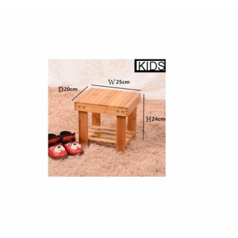 Harga Kid's Wooden Stool