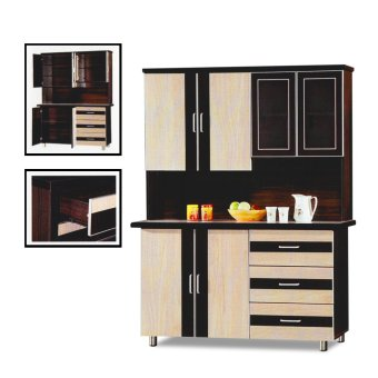 Harga Nova 3019 Dining Cabinet (FREE DELIVERY) (FREE ASSEMBLY)
