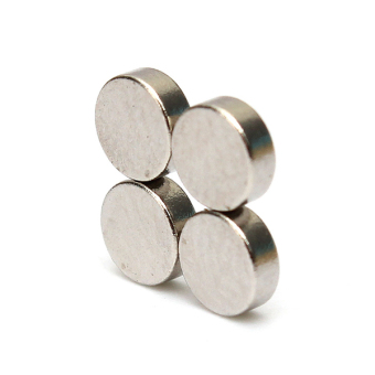 Harga 4 x 1.5mm N50 Strong Small Disc Fridge Magnets Round Rare Earth Neodymium 10Pcs(Export)(Intl)