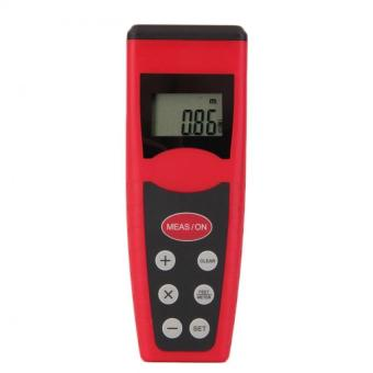 Harga CP3000 Ultrasonic Measure Distance Meter Laser Range Finder Red - intl