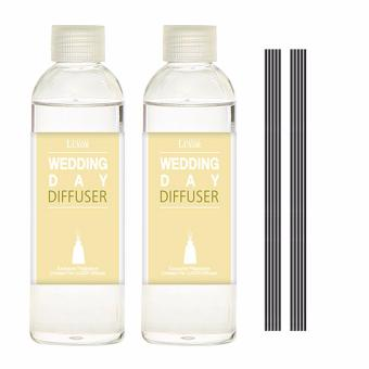 Luxor Aroma Reed Diffuser Wedding Day 200ml 2 Refill Bottles + 10 Reed Sticks - intl Price in Singapore