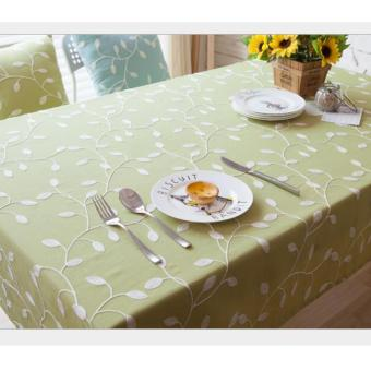 Harga 100cm*140cm Waterproof Tablecloth for Dinning Kitchen Accessories