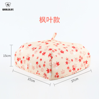 Harga Japan and folding table cover kitchen maker insulation cover food cover dish cover bowl cover dust cover umbrella dish bowl