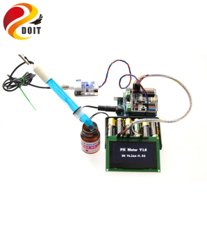 Harga DOIT Open Source PH Sensor Simulation Meter - intl